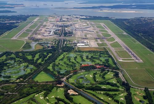 新加坡樟宜机场全景图(资料图)