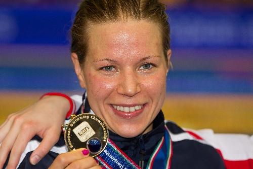 2012年游泳欧锦赛战况 诺登斯塔姆领奖