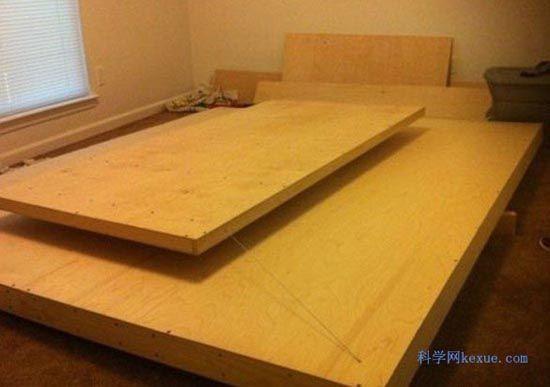木床结构图图纸