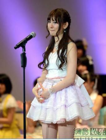 AKB48总选举大岛优子夺冠 亚军麻友来年誓要