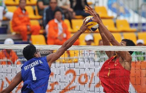 海洋(山东),2012年6月15日(体育)(4)沙滩排球——沙滩排球...