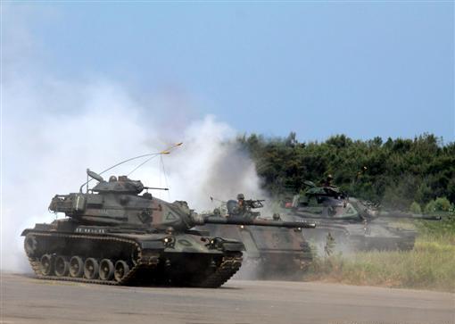台湾/M/60A3为台军主力战车。(图片来源:台湾今日新闻网)