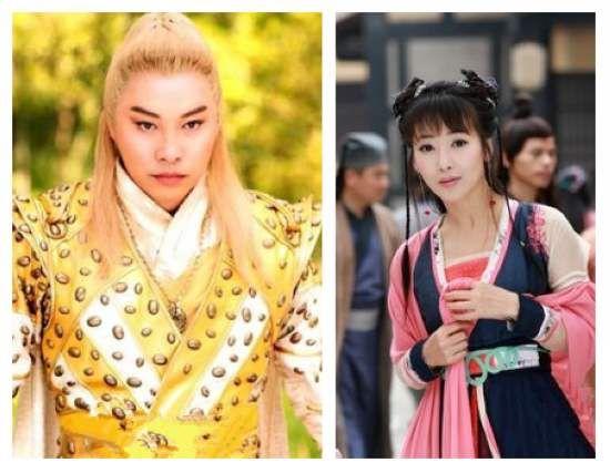 谭耀文与剧中饰演狐女的陈紫函三度合作,拍摄《刘海戏金蟾》更是默契图片