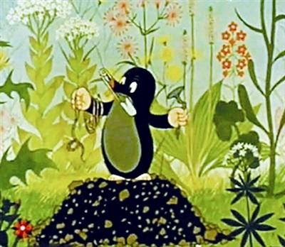 鼹鼠的故事 国内首播 同时登录央视两频道