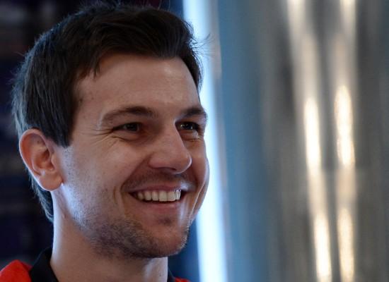 波尔出席新闻发布会   7月20日,德国队选手波尔出席新闻发...