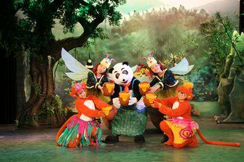 """北京动物园""""动物城堡大剧场"""":   每天上演精彩大戏《动物总动员》"""