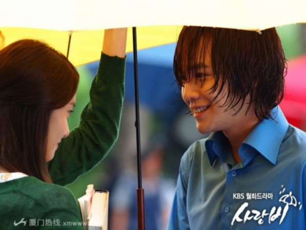 张根硕/《爱情雨》张根硕和少女时代林允儿幕后花絮/高清剧照