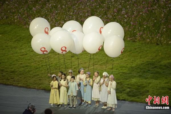 间7月27日,2012年伦敦奥运会,开幕式隆重举行.图片来源:图片