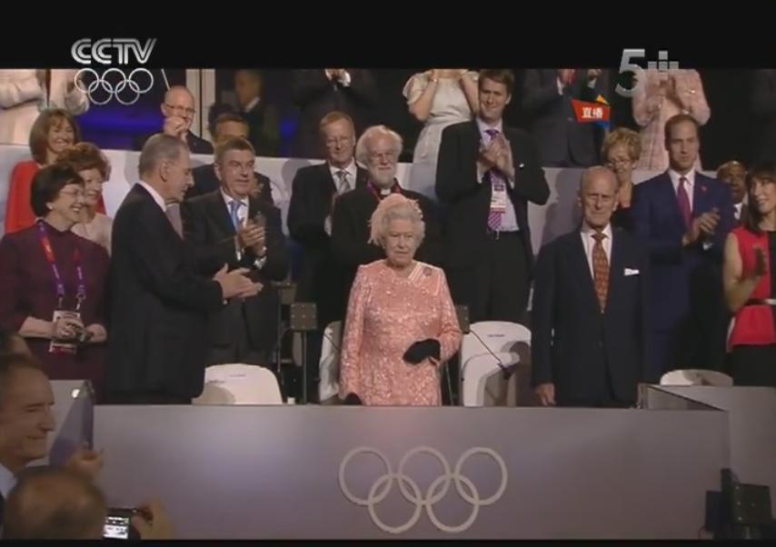 滚动图片 伦敦奥运会开幕式精彩瞬间图片