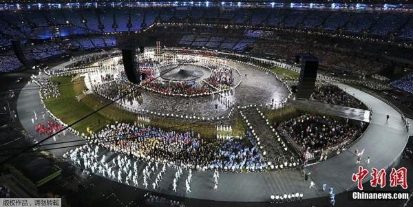 间7月27日,2012年伦敦奥运会,开幕式隆重举行.-伦敦奥运会开幕图片