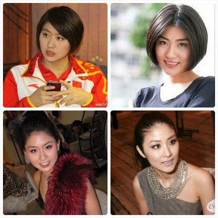 短发大眼睛,被网友笑称酷似香港女歌手陈慧琳出道模样.图片
