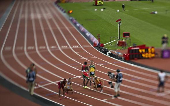 的无腿人 奥运跑道上赢得世界尊重