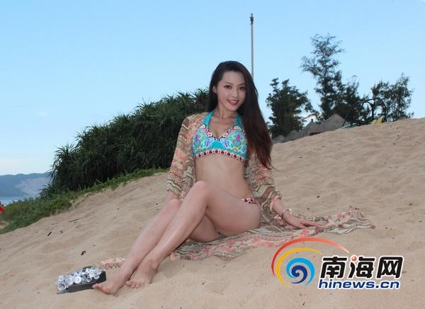 美空超级美女榜 18选手三亚沙滩大秀曼妙身姿