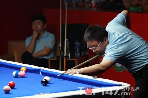 李赫/北京时间8月25日,2012年度CBSA星牌杯全国中式台球排名赛...