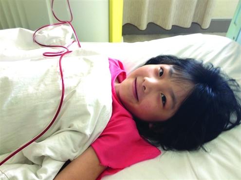 去操妹妹_妹妹施明媛在捐献造血干细胞