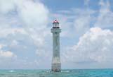 西沙北礁浪花礁灯塔已修复