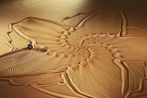 沙雕 精美绝伦的大地艺术图片