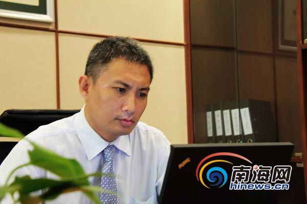 惠通嘉华投资公司海南事业部总经理杨明(惠通嘉华供图)图片