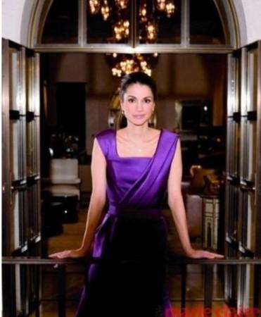 """后拉尼娅(出生难民家庭)约旦王后拉妮娅被誉为""""阿拉伯世界的"""