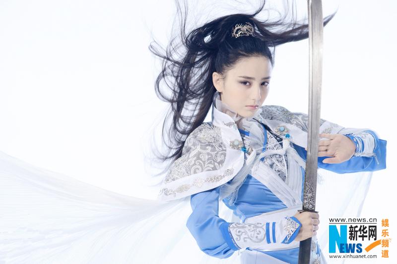 佟丽娅代言网游定妆照曝光 化身纯美女侠风流倜傥