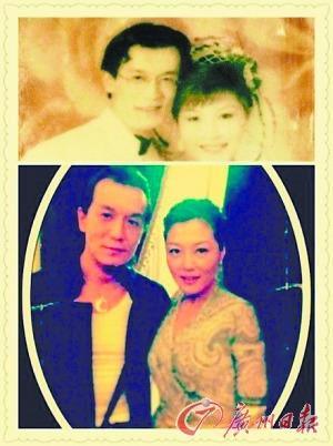 哈文李咏晒复古婚纱照 叹夫妻二十年缘分