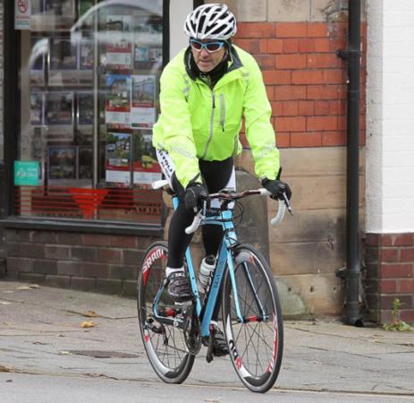 自行车 曼奇尼/曼奇尼的天蓝色自行车