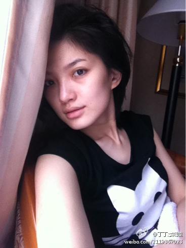 杨坤丁丁被曝地下情 丁丁素颜美照