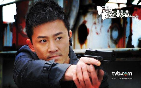 《雷霆扫毒》林峰首演警察