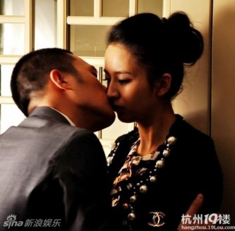 北京青年杜淳与佟丽娅等女星吻戏(图)_新闻_