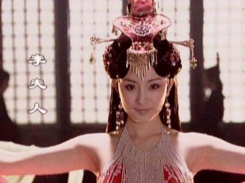 那些 骨子里/汉武帝的李夫人。...