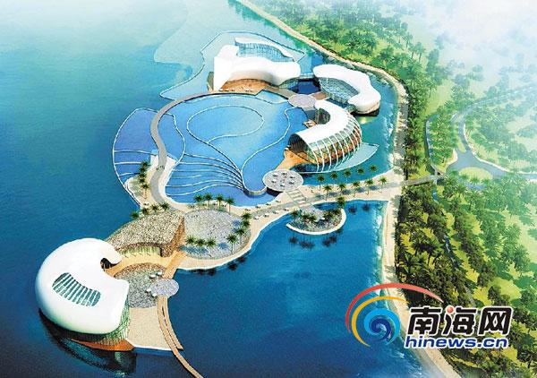 图为海洋博物馆概念性规划设计方案选登.省海洋与渔业厅供图图片