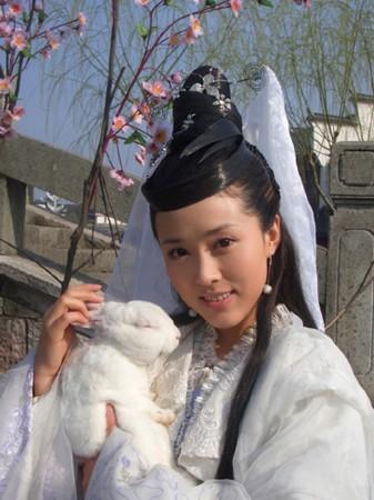 最灵秀版嫦娥:颜丹晨-马苏陈红刘涛 戏里戏外 嫦娥 谁更仙图片