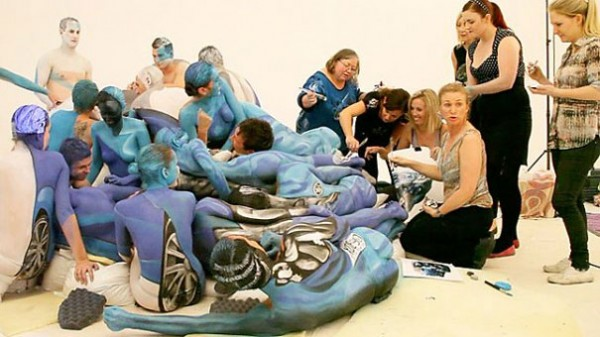 欧美超级人体艺术看了就射_组图:外国人体艺术 真正的机车人