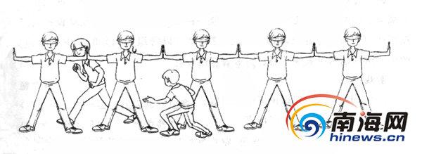 学生体质差 海师教授设计276种体育游戏吸引锻