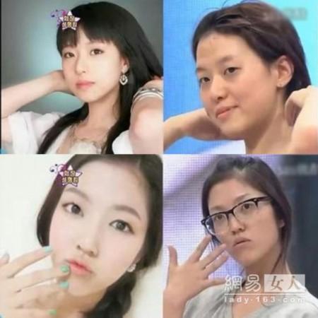 韩国网络美女朴雪儿