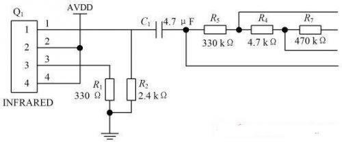 图3脉搏波信号滤波电路