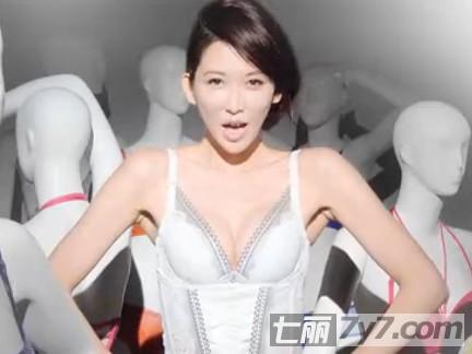林志玲惹火内衣广告 太性感遭到禁播(组图)图片