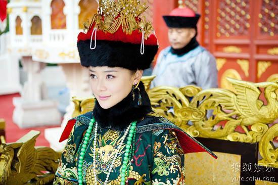 《美人无泪》袁姗姗饰演孝庄皇后高清图片