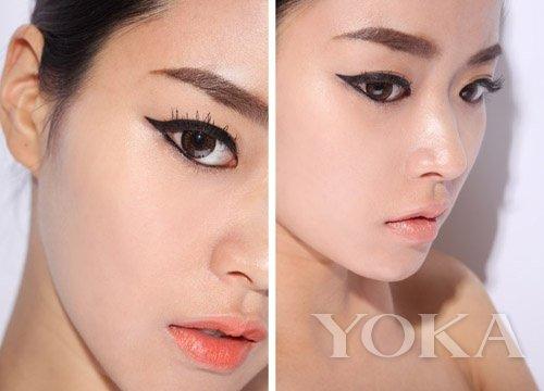 ; 韩国第三眼3concept eyes 极细眼线水笔8886 眼线液眼线笔