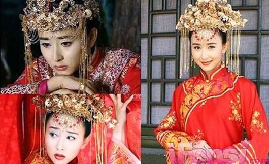 古代嫁衣唯美图片