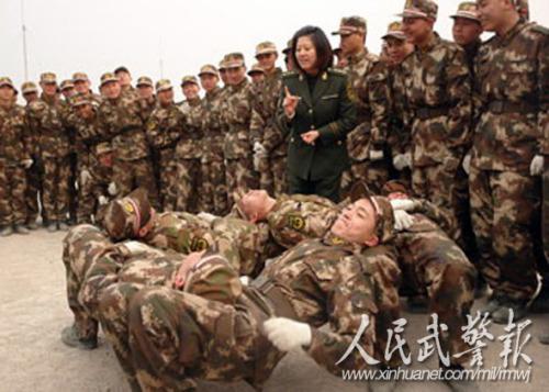 新兵军训图片素材