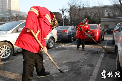 今冬他们是最可爱的人——哈市南岗区环卫工人清雪纪实