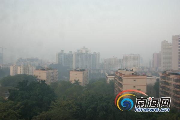 海口空气保持优良 汽车尾气扬尘等影响空气质量