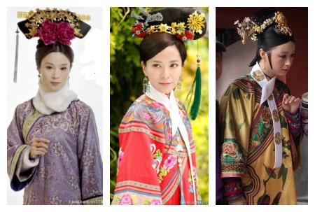 杂色步步惊心:好看,喜欢衣服上的花纹~~~宫锁心玉:终于穿的像个妃子