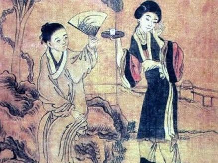 古代公主屋手绘图