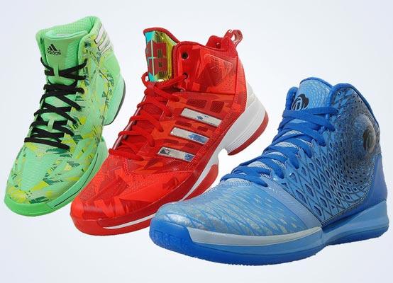 adidas/组图:adidas 2013年全明星赛篮球鞋发布