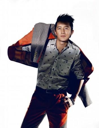 韩庚登《时尚cosmo》封面