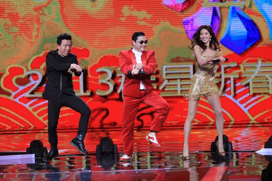 韩国音乐人鸟叔psy《江南style》的骑马舞当之无愧!