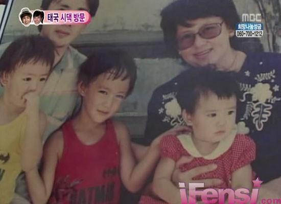 宋茜/韩国偶像夫妻维尼夫妇尼坤和宋茜的童年照曝光了,很多网友都...