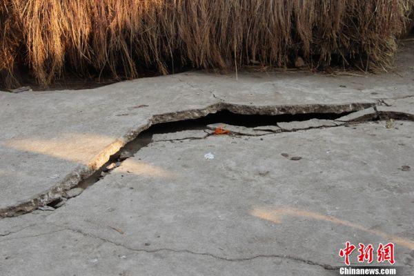 云南洱源5.5级地震造成6000多间房屋损毁图片